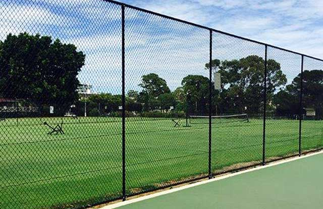 Tennis court fencing perth